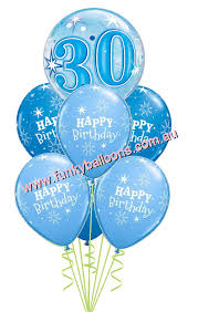 30th birthday balloon bouquets 30th birthday funky balloons brisbane qld helium balloon gift