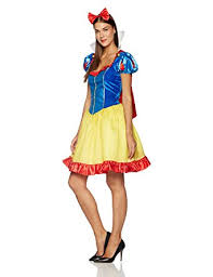 Halloween Costumes Snow White Amazon Disguise Women U0027s Disney Deluxe Sassy Snow White