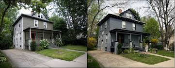 Home Exterior Remodel - marvelous charming before and after home exteriors exterior