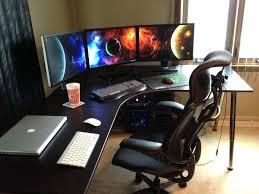 Corner Gaming Desk Awesome Computer Gaming Desks Pertaining To For Corner Desk