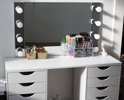 Diy Vanity Table D I Y Vanity Desk Mirror W Led Lights Napturallyeverafter