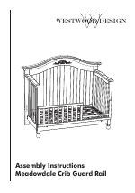 Meadowdale Convertible Crib Westwood Design Meadowdale Convertible Crib Guard Rail Manuals
