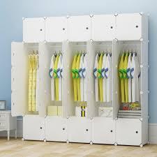 Bedroom Armoire by Kousi Portable Clothes Closet Wardrobe Bedroom Armoire Storage Organiz