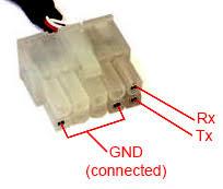 parrot ck3100 ck3300 ck3500 diy flash upgrade programming cable