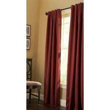 Thermal Back Curtains Back Tab Curtains U0026 Drapes Window Treatments The Home Depot