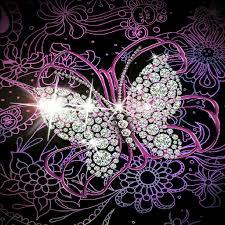 glitter wallpaper with butterflies butterfly glitter wallpaper 91myvoqhmul top backgrounds wallpapers