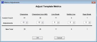 Count Characters In Access Kb Id 249 How Can I Adjust The Character Count For A Template