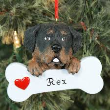 engraved rottweiler ornament dogs photogift personalizedgifts