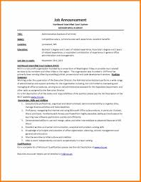 sle of description template 28 images judicial clerk resume
