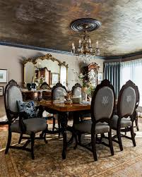 monogrammed dining chairs are the ultimate luxury karen fron