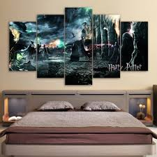 aliexpress com buy 5 piece canvas art harry potter deathly