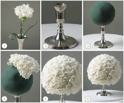 wedding centerpieces diy diy wedding ideas white carnation centerpiece