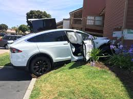 white lexus drag crash model x crash details emerge tesla claims human error owner says