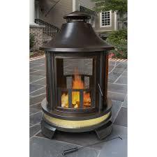 landmann hartford outdoor fireplace hayneedle