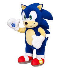sonic the hedgehog makes his very huggable build a bear debut