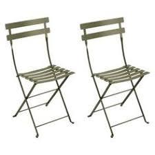 Green Bistro Chairs with Fermob Bistro Metal Chair Pair Metalen Producten En Metalen Stoelen