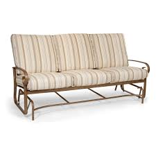 Glider Patio Furniture Winston Veneto Cushion Sofa Glider Outdoor Furniture Sunnyland