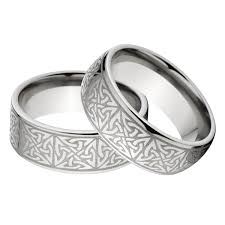 celtic wedding rings new his and s matching celtic ring set celtic wedding rings
