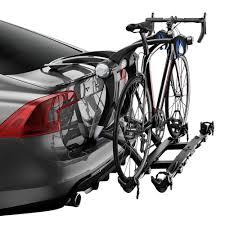 Jetta Roof Rack by Thule 9003pro Raceway Platform Trunk Mount Bike Rack For 2 Bikes