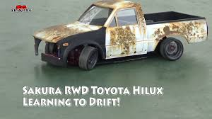 nissan hardbody drift 3racing sakura d4 rwd 1 10 drift car with toyota hilux mojave