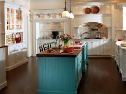 colorful kitchen islands 10 ways to color your kitchen cabinets kitchens diy network and