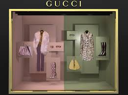 gucci window display