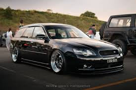 bagged nissan car stanced jdm lt