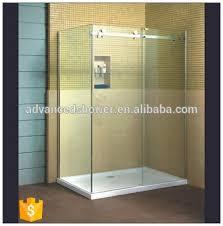 sale l shape bathroom 3 panel sliding glass shower door with