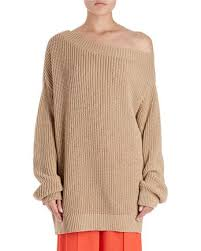 oversized shoulder sweater dries noten jazma oversized shaker knit shoulder sweater
