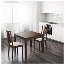 Dining Room Tables With Leaf by Bjursta Extendable Table Brown Black Ikea
