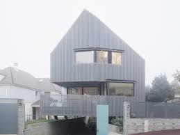 Esszimmer St Le In Eiche Wohnhaus In Marly Le Roi Nachhaltig Bauen Wohnen Baunetz Wissen