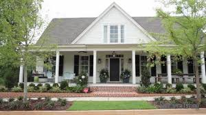 country southern house plans southern living house plans country