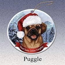 puggle ornament with unique dangling legs