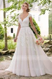 a line wedding dress simple a line wedding dresses and gowns uk at mialondon from top