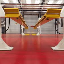 garage workshops industry sectors covered by ssc industrial flooring