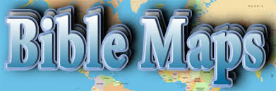 middle east map moses time bible maps bible history