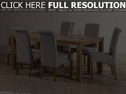 6 Seater Oak Dining Table And Chairs Solid Oak Dining Table With 6 Chairs Chair Eva Shure