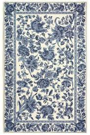 Blue And White Area Rugs Awesome Excellent Ideas Blue And White Area Rug Decoration Within