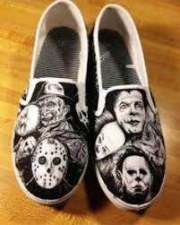 sweet jason voorhees u0026 michael myers shoes cute pinterest