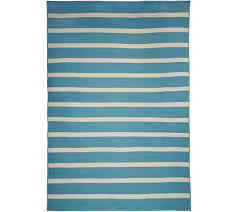 tommy bahama indoor outdoor 7x10 awning stripe rug page 1 u2014 qvc com