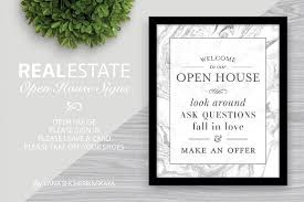 welcome to our open house signs presentation templates