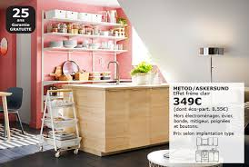 ikea poign馥s cuisine ikea cuisine prix finest affordable cheap ilot central table