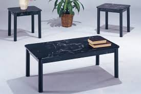 faux marble coffee table artistic poundex table set for black f to phantasy piece coffee