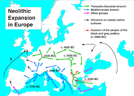 Genetic Maps Of Europe by Neolithic Europe Wikipedia