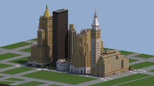 America Minecraft Map by Midtown Manhattan New York City Download V2 0 Minecraft Project