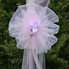 pew bows custom wedding pew bows big event décor