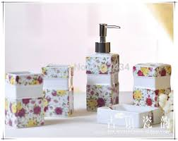 buy red bathroom set and get free shipping on aliexpress com