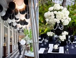 decoration mariage noir et blanc décoration d un mariage noir et blanc
