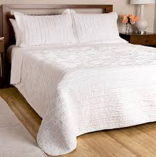 shabby chic white ruffled bedding twin full queen king bedspread