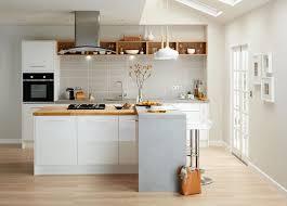 photo cuisine avec ilot central cuisine avec îlot central ayant toute la fonctionnalité d une